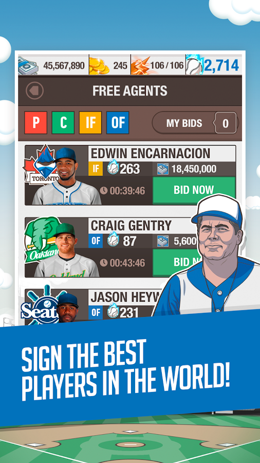 Baseball General Manager 2015- screenshot