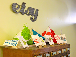 """Photo: Does your office have a """"Make an Ornament"""" station?"""
