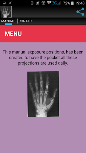 RADIOLOGY MANUAL screenshot for Android