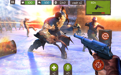 Zombie Call: Trigger 3D First Person Shooter Game 1.80.0 Mod APK Latest Version 1