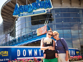 Photo: Next up on our adventure list was the Denver Aquarium. None of us had ever been - can you believe it!
