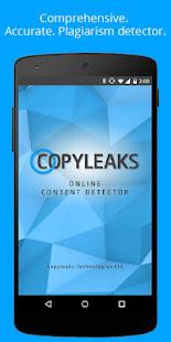 Copyleaks - Plagiarism Checker