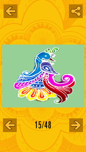 玩免費遊戲APP|下載Rangoli Design Collection app不用錢|硬是要APP