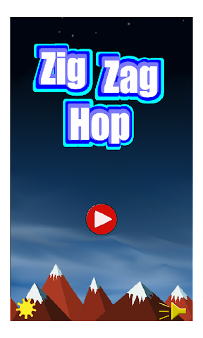 android Zig Zag Hop Screenshot 0