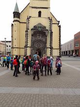 Photo: Nemáme rozbité objektivy, kostel je skutečně nakřivo od bombardování za druhé světové války.