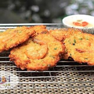 Ukoy Recipe or Okoy, a Filipino style Shrimp Fritters.