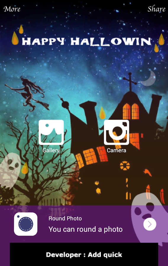 Halloween Camera- screenshot