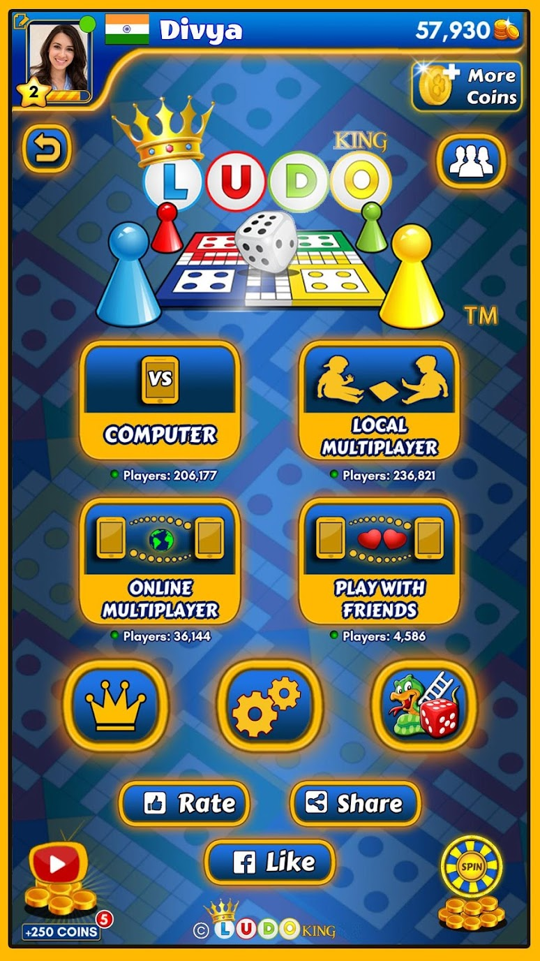 Ludo king Mod Apk (Unlimited Money/MOD) 2