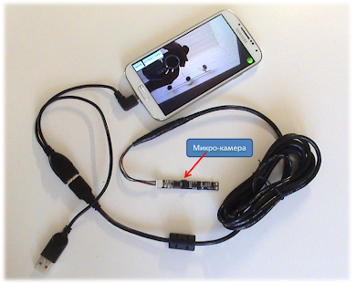 USB camera NO-ROOT PROFESSIONAL - náhled