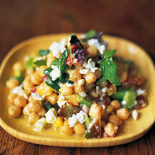 Chickpea Salad Mint Recipes