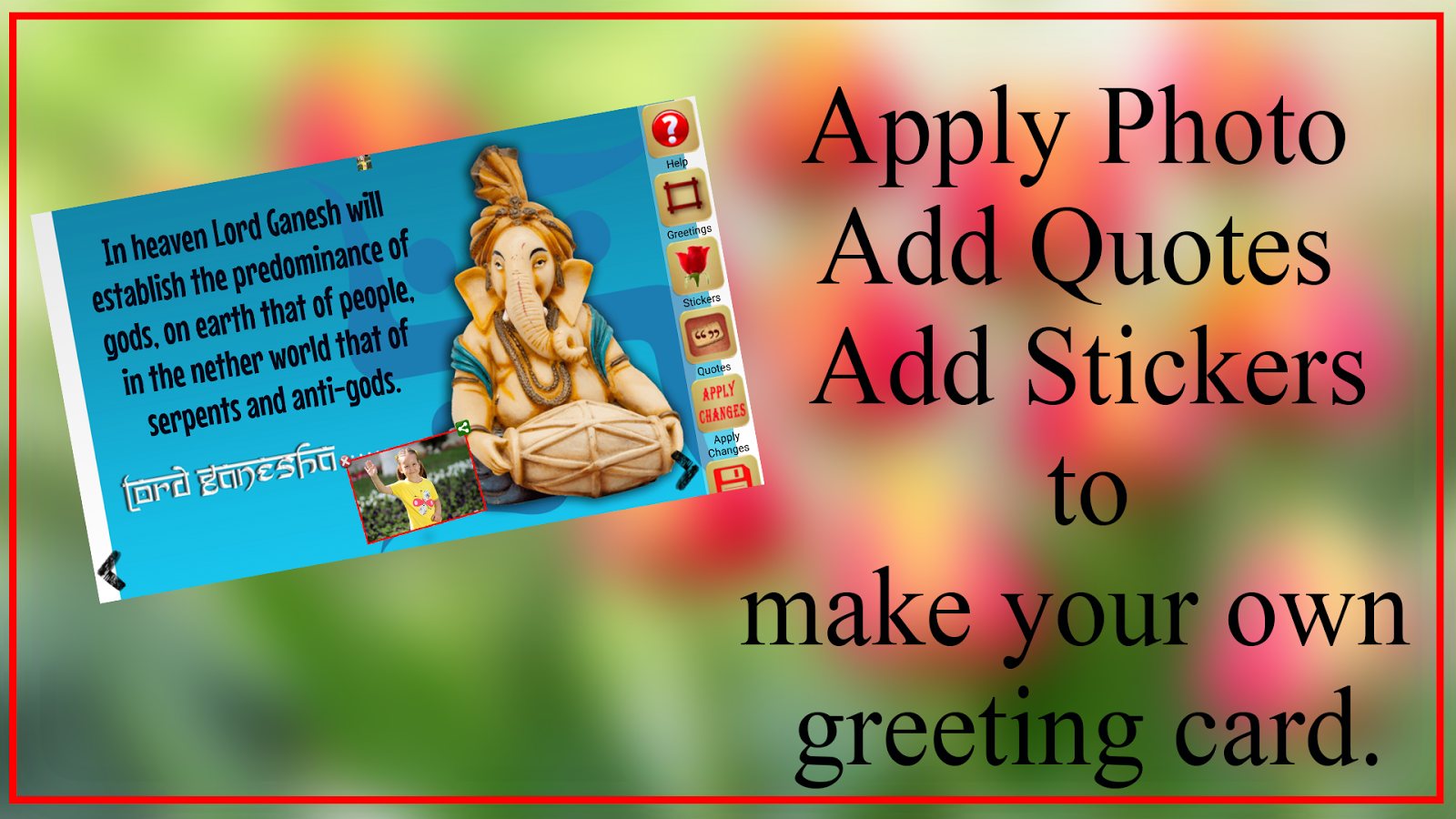 Ganesh chaturthi greeting card android apps on google play ganesh chaturthi greeting card screenshot kristyandbryce Images