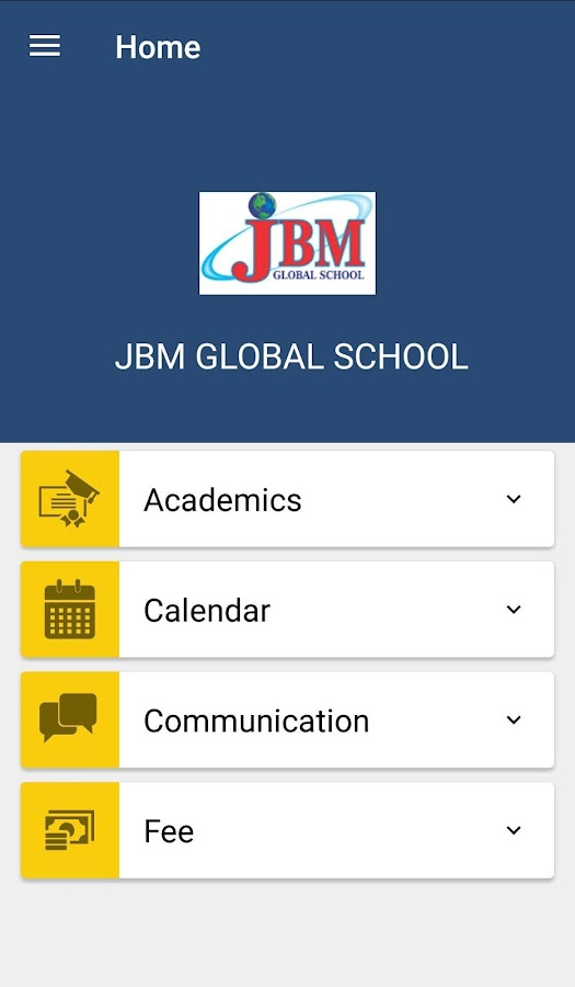 JBM GLOBAL SCHOOL- screenshot