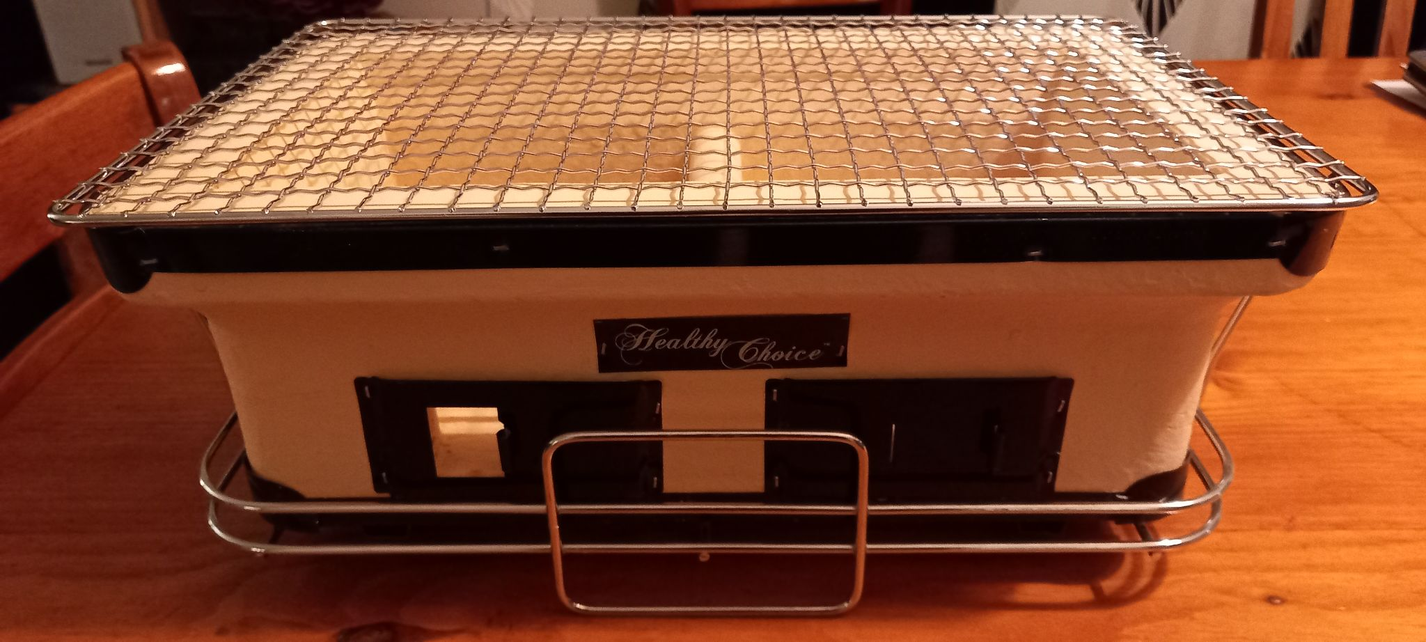 A modern hibachi grill