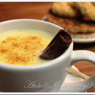 Sweet Corn Atole and Masa Harina Atole.