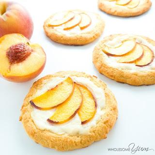 Peach Cream Cheese Danish (Low Carb, Gluten-free).
