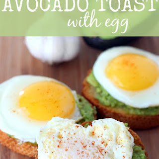 Easy Avocado Toast with Egg.