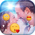 Photo Keyboard with Emoticons icon