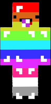 a rainbow baby blob