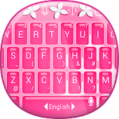Pink Keyboard Theme