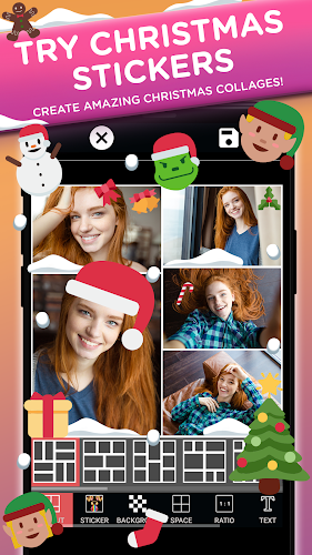 Photo Editor Collage Maker Pro: Filters & Stickers Android App Screenshot