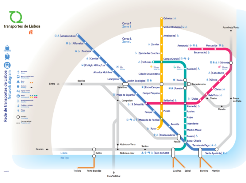 Lisbon Metro Map Android Apps On Google Play - Portugal underground map