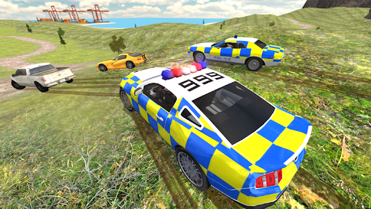 Police Car Driving vs Street Racing Cars 3