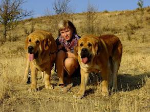 Photo: Katka with Sofia and Ydalgo
