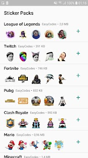 WAStickerApps - Games stickers for Whatsapp Screenshot