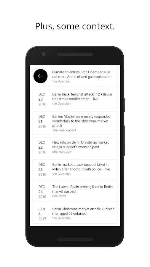Tenreads - Get your daily news in a minute- screenshot