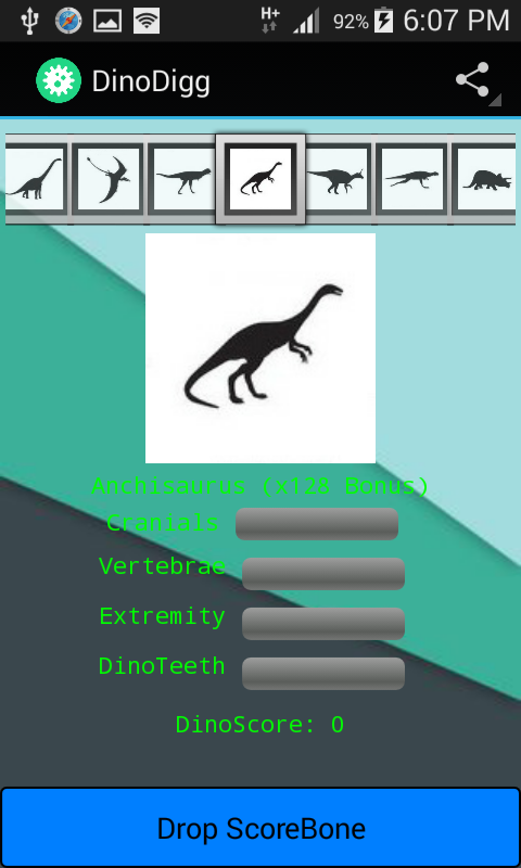DinoDigg- screenshot