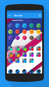Glim Dark - Icon Pack v1.0.0