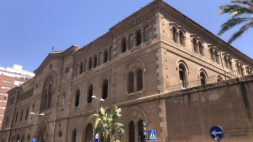 Exterior de la Compañía de María.