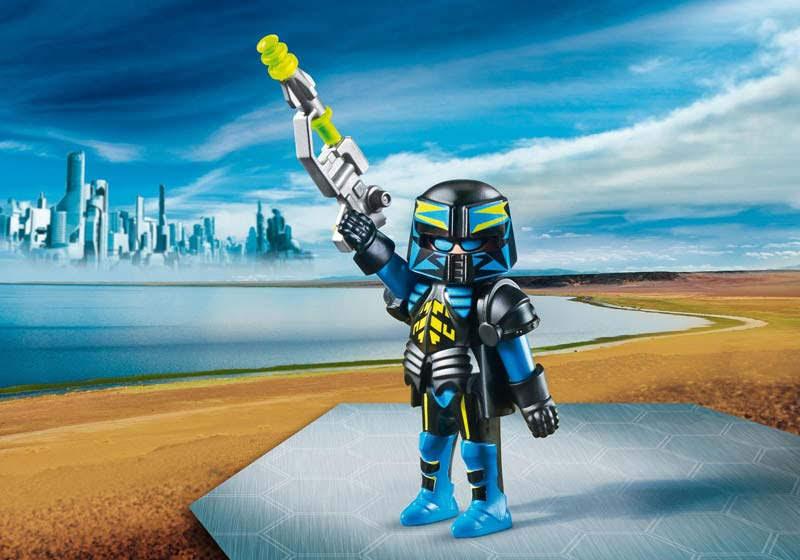 Contenido real de Playmobil® 70027 Agente Espacial