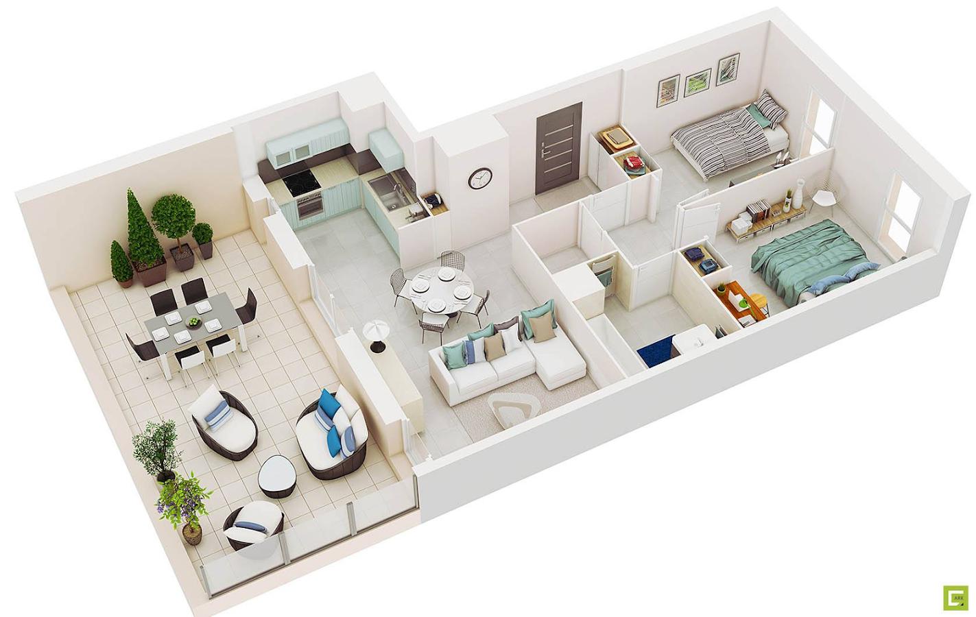 Stunning Total 3d Home Design Contemporary - Decoration Design Ideas ...