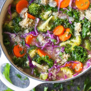 Superfood Quinoa Soup