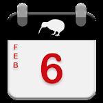 New Zealand Calendar 2017 - 2018 Icon