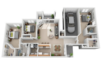 Go to Normandy Garage Floorplan page.