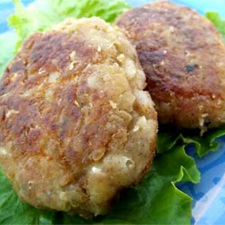Russian Rice Fish Patties