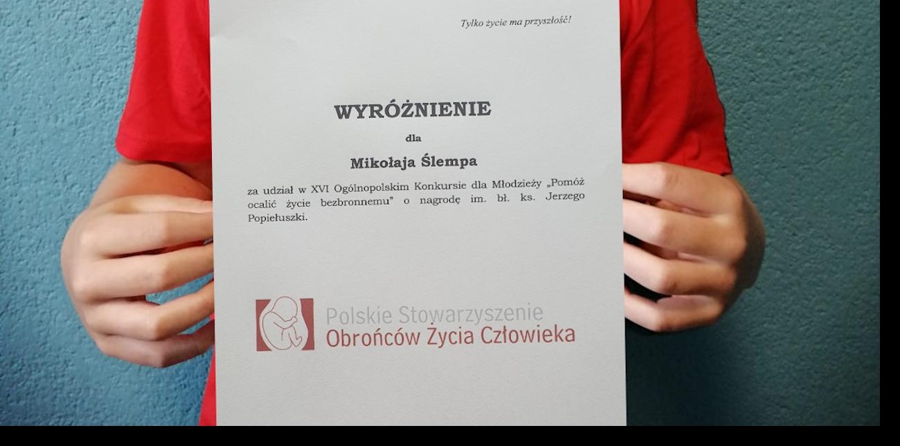Mikolaj pro-life