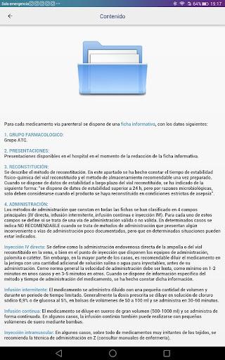 Medicamentos vu00eda parenteral 3.0 Screenshots 23