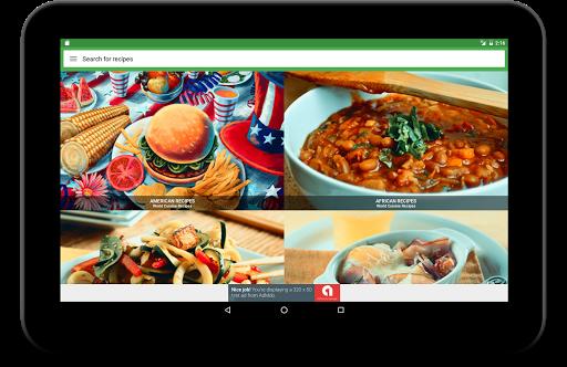 All free Recipes : World Cuisines Screenshot