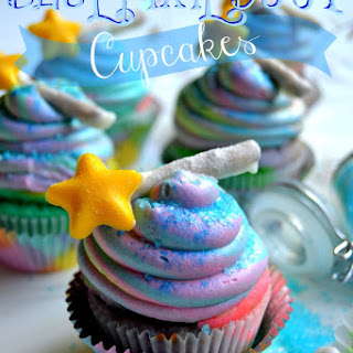 Blue Pixie Dust Cupcakes for Disney'S the Pirate Fairy Movie! Recipe