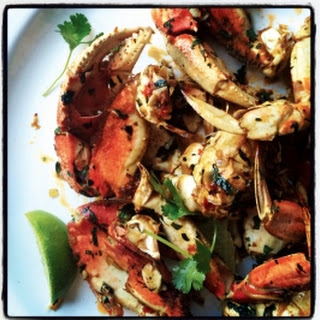 Oven-Roasted Crab With a Kick.