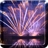 Fireworks Night Live Wallpaper