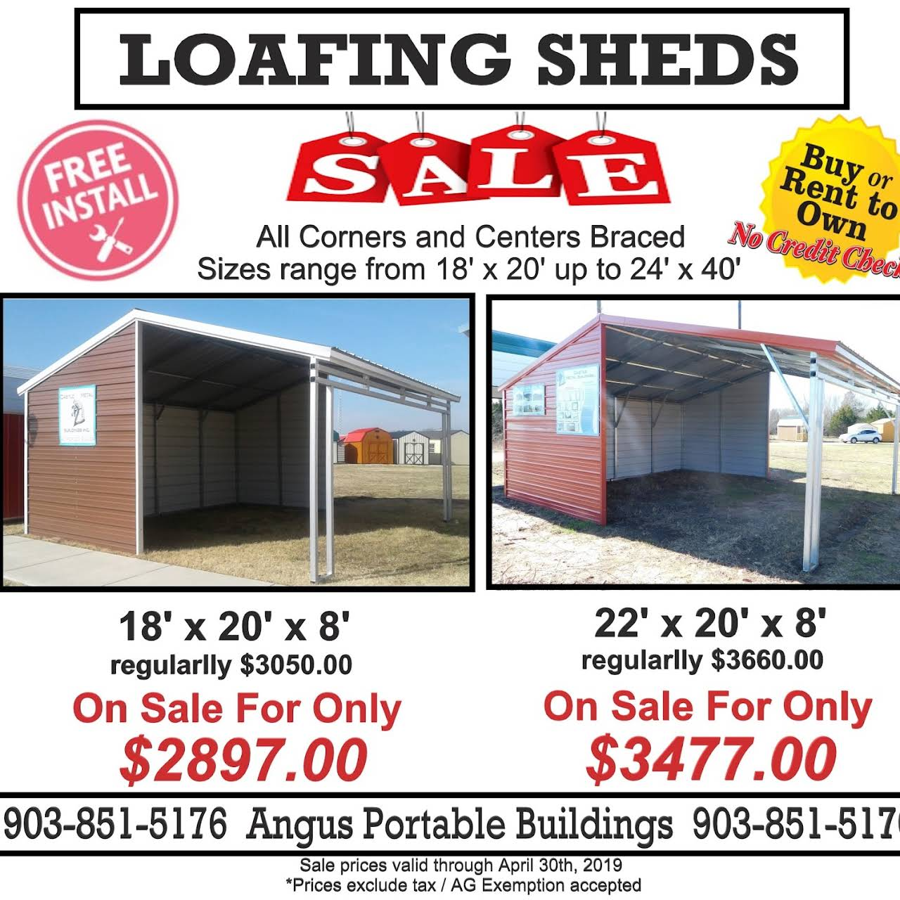 Angus Portable Buildings - Home Goods Store in Angus, Texas