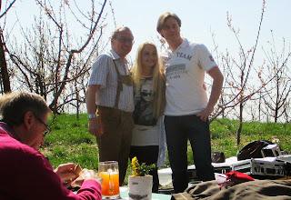Photo: Paul Prattes mit Styrina und ihrem Mann Robert
