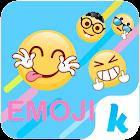 Funny Emoji for Kika Keyboard icon
