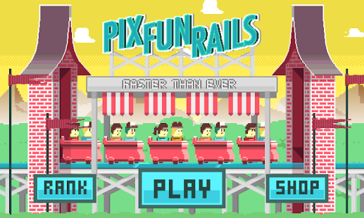 Pix Fun Rails (Rollercoaster)- screenshot thumbnail