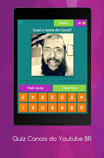 Quiz Canais Youtubers Brasil 8.5.1z screenshots 9