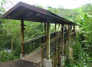 Photo: Bridge at the Tulipe exhibit of the Yumba ruins